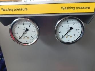 egg washing coorect pressure